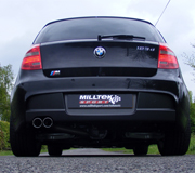 BMW 1 Series 123d with Milltek exhaust