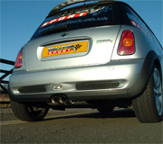 Mini Cooper S mk1 with Milltek exhaust